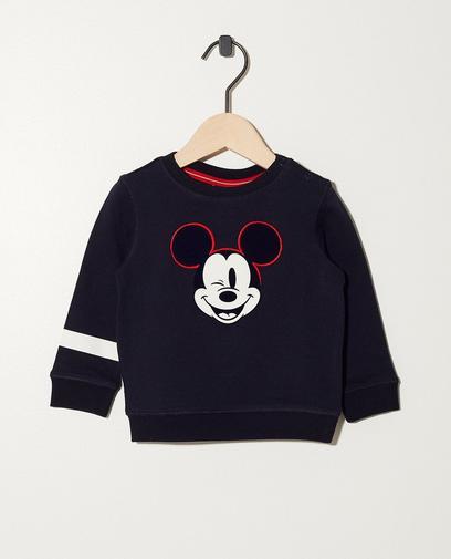 Sweatshirt mit weichem Print